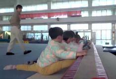 De la cuna a los Juegos Olímpicos, la epopeya de los gimnastas chinos