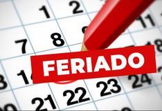 Feriados 2020: ¿Cuántos días no laborables restan en el año?