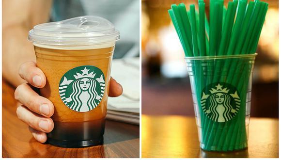Starbucks dejará de usar sorbetes a nivel mundial al 2020