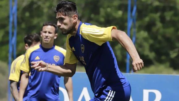 Carlos Zambrano tiene 8 partidos y un gol en la Copa de la Liga Profesional de Argentina 2021. (Foto: Boca Juniors)