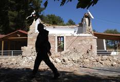 Terremoto de magnitud 5,8 sacude la isla griega de Creta y deja un muerto y 11 heridos