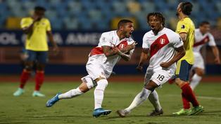 Copa América 2021: Sergio Peña lloró de emoción por triunfo de Perú ante Colombia