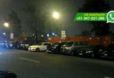 """San Luis: conductores aprovechan giro en """"U"""" para estacionar"""