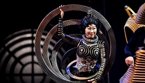 Cirque du Soleil se declara en quiebra y presenta un plan de reestructuración. (Foto: AFP)