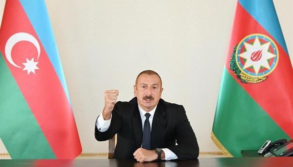 El presidente de Azerbaiyán, Ilham Aliev. (EFE).