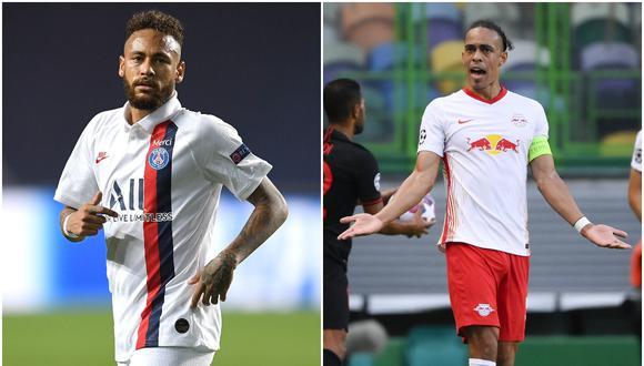 PSG vs. RB Leipzig por la semifinal de la Champions League será el duelo más atractivo de este martes 18 de agosto. (Fotos: AFP | AP)