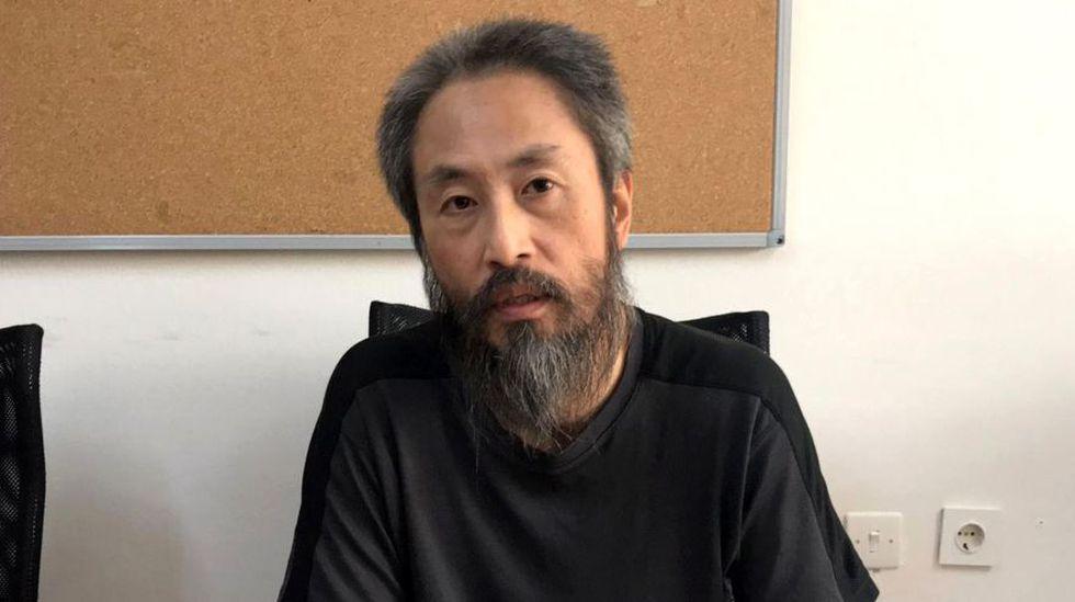 Japón espera el regreso de periodista tras más de 3 años secuestrado en Siria. (AFP)