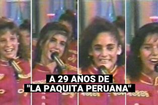 """""""Paquita peruana"""": se cumplen 29 años de la final del popular concurso de Xuxa"""
