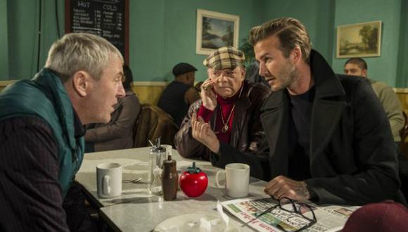 David Beckham actuará en capítulo de conocida serie británica