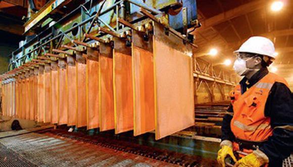 Las existencias de cobre en los almacenes registrados en la LME aumentaron casi un 40%. (GEC)