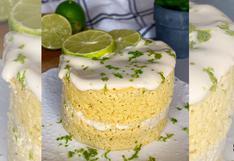 ¿Keke de limón con solo cinco ingredientes? Conoce cómo prepararlo