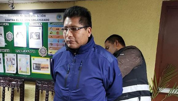 Aduviri Calisaya cumple prisión efectiva de seis años de cárcel en el penal de Yanamayo. Él fue hallado culpable de ser coautor ejecutivo del delito de disturbios durante las acciones ocurridas en el llamado 'Aimarazo' del 2011.