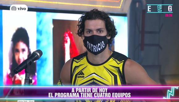 """Patricio Parodi regresó a """"Esto es guerra"""" como capitán de 'Los Leones' y volvió a disculparse con Ana Jara. (Foto: Captura de video)"""
