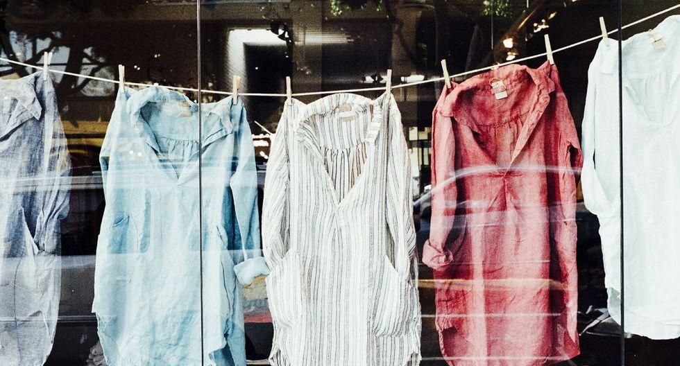 La ropa está en contacto directo con virus, bacterias, hongos y gérmenes por lo que es necesario desinfectarla bien. (Foto: Pixabay)