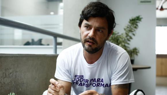 El congresista del Partido Morado (PM) Daniel Olivares, reconoció que es un consumidor de marihuana desde hace más de 20 años  / Foto: Joel Alonso