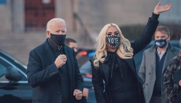Lady Gaga lloró tras conocer victoria de Joe Biden. (Foto: @LadyGaga)