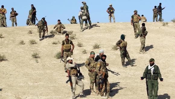 Desentierran fusiles para expulsar al Estado Islámico de Mosul