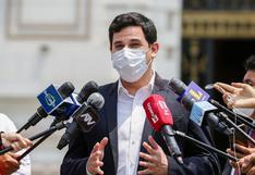 """César Combina: """"Hemos pedido al presidente acabar con la cuarentena"""""""