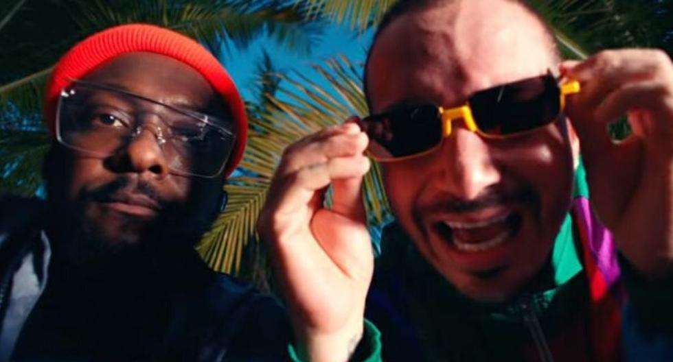 """Captura del videoclip del tema """"Ritmo (Bad Boys For Life)"""", interpretado por  The Black Eyed Peas y J Balvin. (YouTube)"""