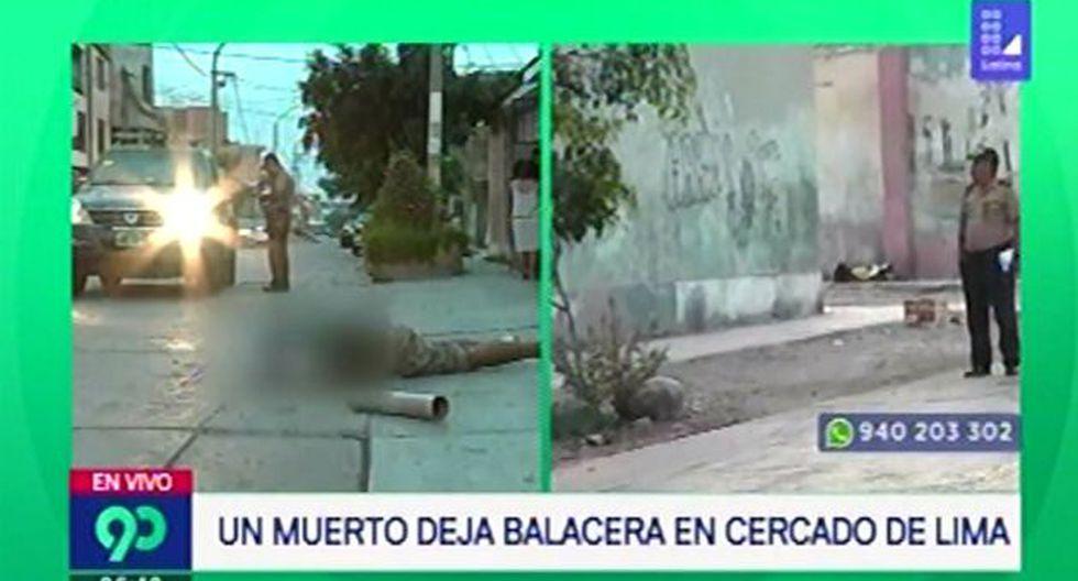 Cadáver de hombre es encontrado por vecinos de SMP (Captura: Latina)