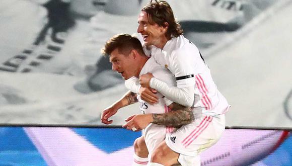 Luka Modric y Toni Kroos se pierden el siguiente partido de Real Madrid. (Foto: Reuters)