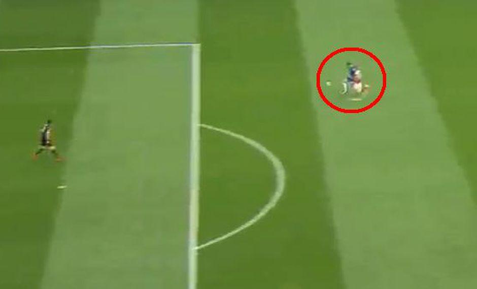 Chelsea vs. Arsenal: Morata estiró ventaja con este golazo que incluye gran jugada personal. (Foto: Captura de video)