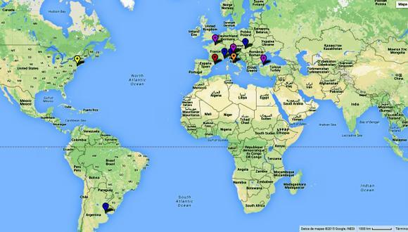 Google: ¿cuáles son los lugares más fotografiados del planeta?