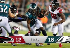 NFL: Eagles vencieron 18-12 a los Falcons en el arranque de la temporada 2018-2019
