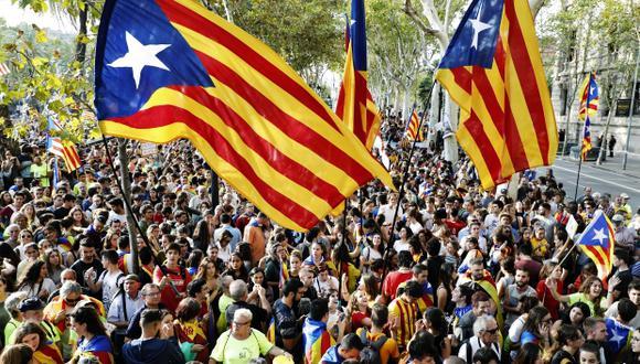 La mayoría de los observadores considera que el resultado más probable después del 1 de octubre será una elección anticipada que lleve a una posible reforma constitucional para acomodar mejor a Cataluña dentro de España. (Foto: EFE)