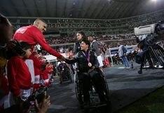 Perú vs. Uruguay: los medallistas de Lima 2019 fueron homenajeados en la previa del partido   VIDEO