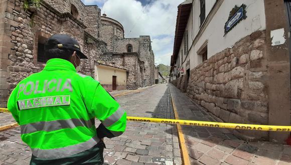 Cusco: Comando COVID-19 solicita a la PCM entrar en cuarentena y cerrar fronteras (Foto: Juan Sequeiros)