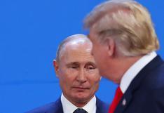 Rusia no descarta un endurecimiento de las sanciones de Estados Unidos en el 2020