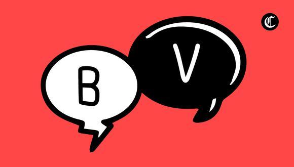 Estas son las reglas básicas de ortografía para el uso correcto de las letras 'B' y 'V'  (Foto: El Comercio)