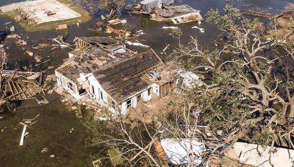 Más de medio millón de hogares están sin energía eléctrica en Louisiana. (EFE/EPA/TANNEN MAURY).