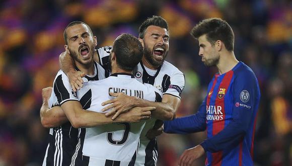 Gerard Piqué no escondió su favoritismo por la Juventus. El zaguero catalán anhela el triunfo de la 'Vecchia Signora' en la final de la Champions League. (Foto: AFP)