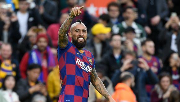 Vidal, de 33 años, tiene contrato con Barcelona hasta junio de 2021. (Foto: AFP)