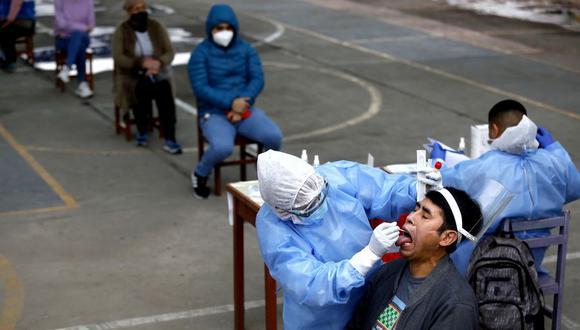 El Ministerio de Salud hizo la precisión sobre la utilidad de las pruebas serológicas y moleculares. (Foto: Diana Marcelo / @photo.gec)