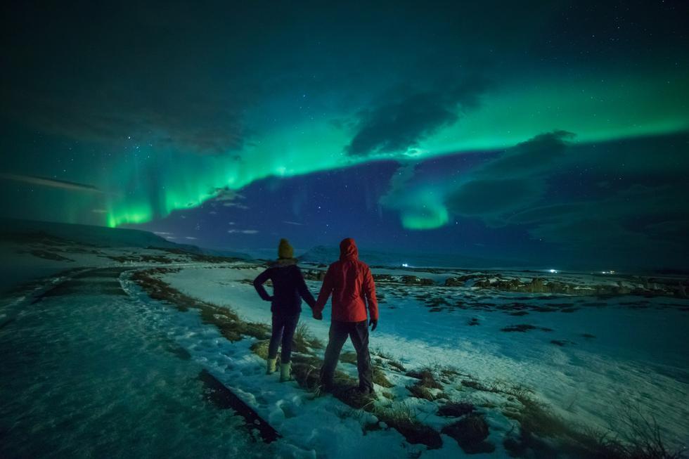 El país más privilegiado para admirar este fenómeno es Islandia.(Foto: Shutterstock)