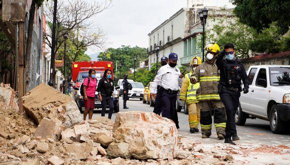 Un terremoto de 7,5 grados sacudió el estado mexicano de Oaxaca el martes 23 de junio | EFE/ Óscar Méndez