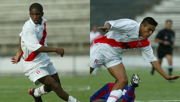Farfán fue titular ante Haití y anotó un gol; por su parte, Sotil solo jugó media hora en el amistoso disputado en Matute en el 2003. (Foto: Archivo GEC).