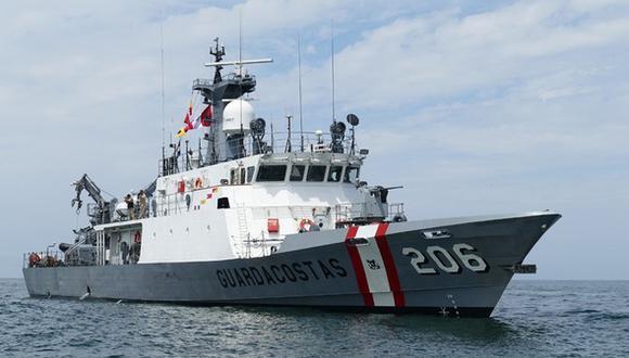 Las autoridades, a bordo de la patrullera marítima BAP Río Piura (PM-206), realizaron las labores de interdicción de la nave (Foto: referencial)