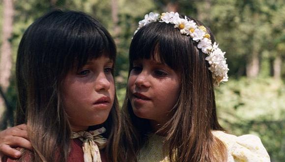 Lindsay y su hermana gemela Sidney interpretaron a Carrie Ingalls, la pequeña de la familia (Foto: Getty Images)