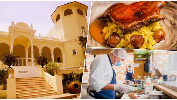 Astrid Gutsche del restaurante Astrid y Gastón. Este amplio local es uno de los pocos sitios de Lima para comer al aire libre. Fotos: Lucero del Castillo para El Comercio/ Astrid & Gastón en Facebook.