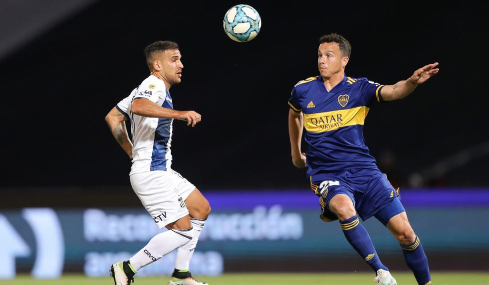Boca Juniors vs. Talleres: las imágenes del partido por la Copa Diego Maradona