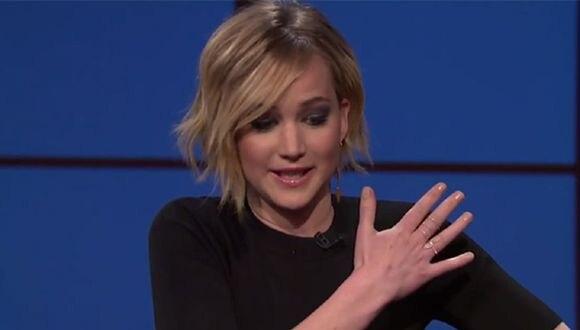 Las fotos de Jennifer Lawrence causan revuelo en las redes sociales. (Imagen de TV)
