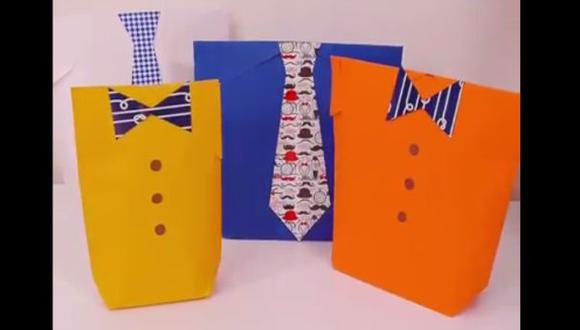 Día del Padre: aprende a hacer originales paquetes de regalo
