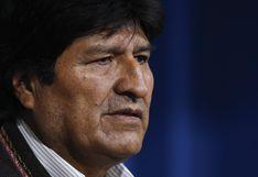 """Evo Morales denuncia que hay una """"orden de aprehensión ilegal"""" en su contra"""