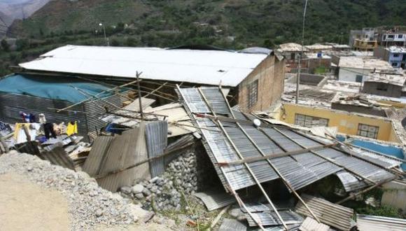 Cusco: al menos 7 heridos dejan vientos huracanados en Pichari