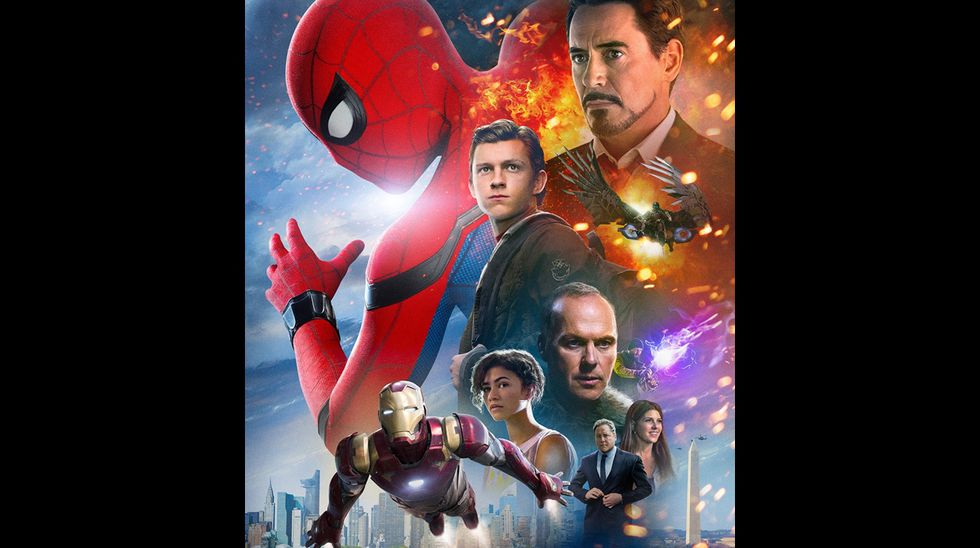 """Póster de """"Spiderman: Homecoming"""". (Foto: Sony Pictures)"""
