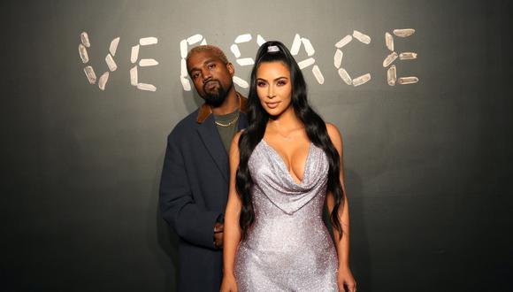 Kanye West y Kim Kardashian (Foto: Reuters)